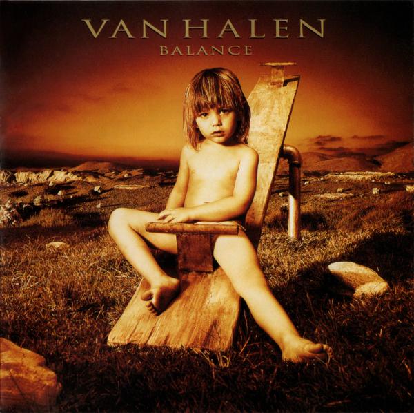 Van Halen (ヴァン・ヘイレン) 10thアルバム『Balance (バランス)』の高画質CDジャケット画像 (ジャケ写)
