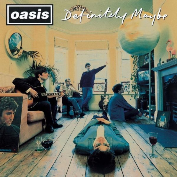 oasis (オアシス) 1stアルバム『Definitely Maybe (オアシス)』(1994年9月8日発売)の高画質CDジャケット画像