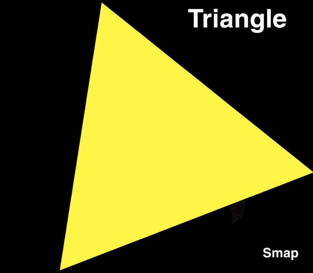 SMAP (スマップ)38thシングル『Triangle (トライアングル)』乃高画質ジャケット画像