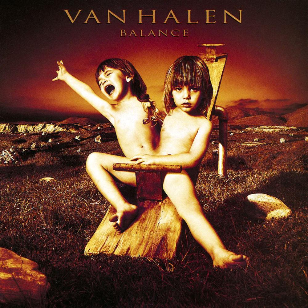 Van Halen『Balance』高画質ジャケット画像