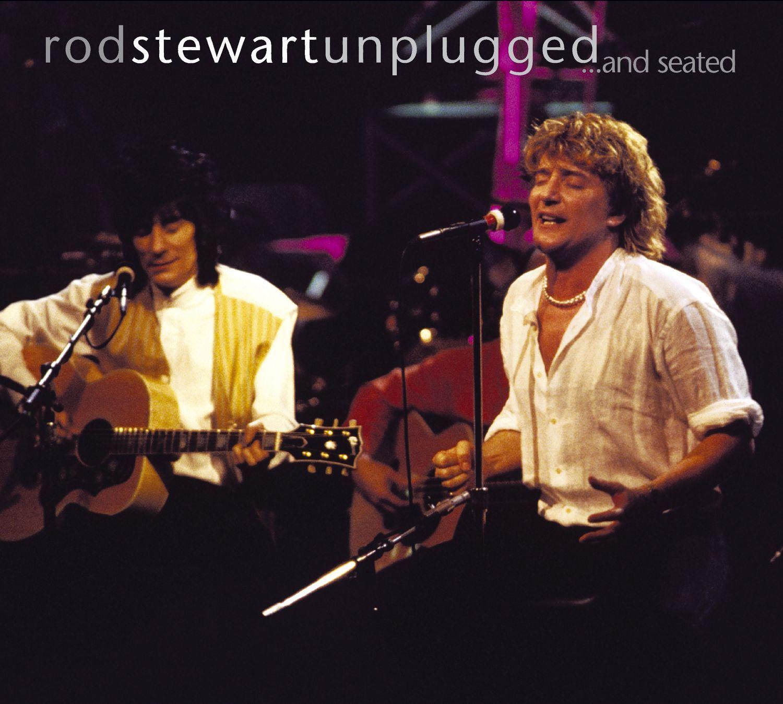 Rod Stewart (ロッド・スチュワート)『Unplugged… And Seated (アンプラグド)』ライブ・アルバムの高画質ジャケット画像