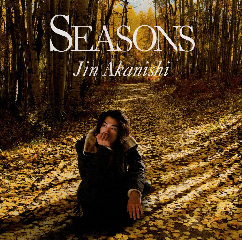 赤西仁『Seasons』初回限定盤AUTUMNジャケットの高画質ジャケット画像