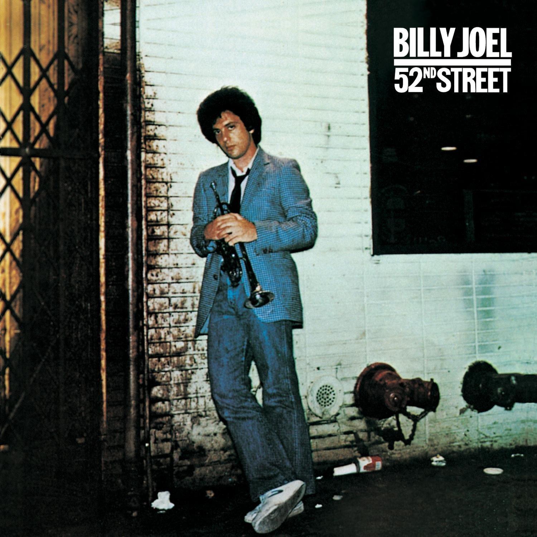 Billy Joel (ビリー・ジョエル) 6thアルバム『ニューヨーク52番街 (52nd Street)』高画質ジャケット画像