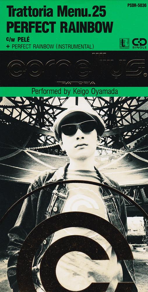 Cornelius (コーネリアス) 2ndシングル『Perfect Rainbow(Trattoria Menu.25)』高画質ジャケット画像