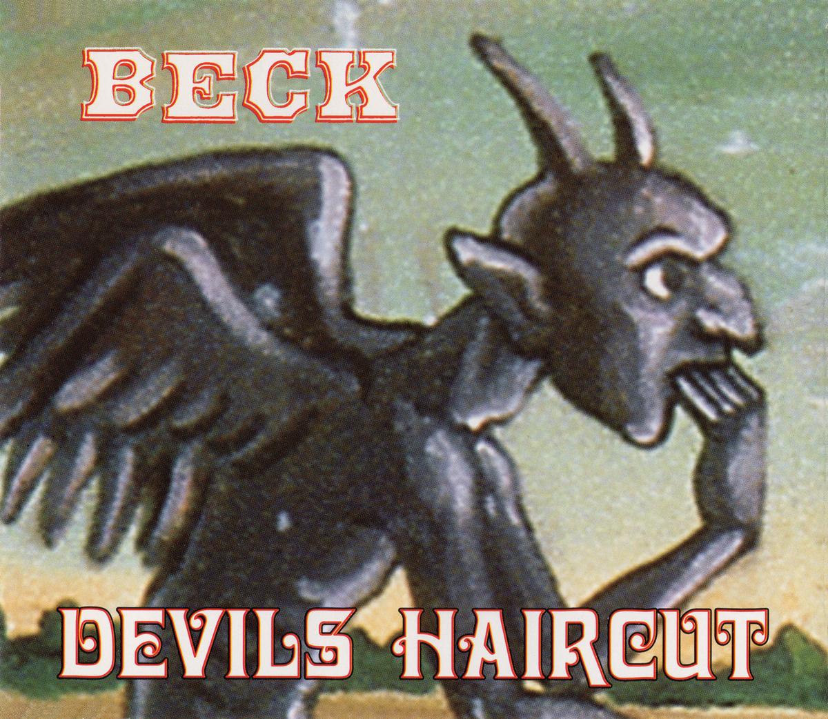 BECK (ベック)『DEVILS HAIRCUT』UK盤 (GFSXD 22183) 高画質ジャケット画像