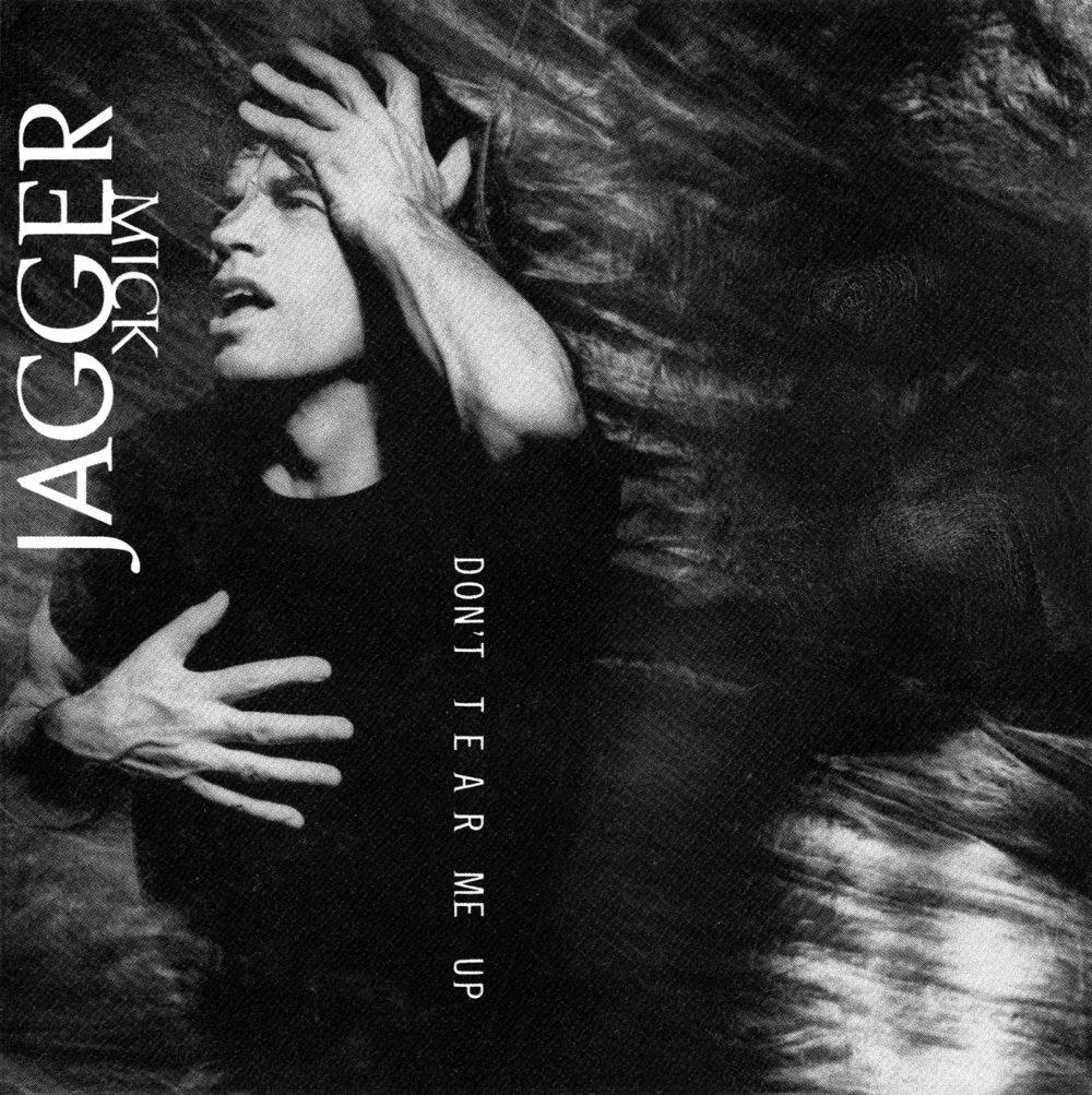 Mick Jagger (ミック・ジャガー) 1993年のシングル『DON'T TEAR ME UP (ドント・テア・ミー・アップ)』高画質ジャケット画像