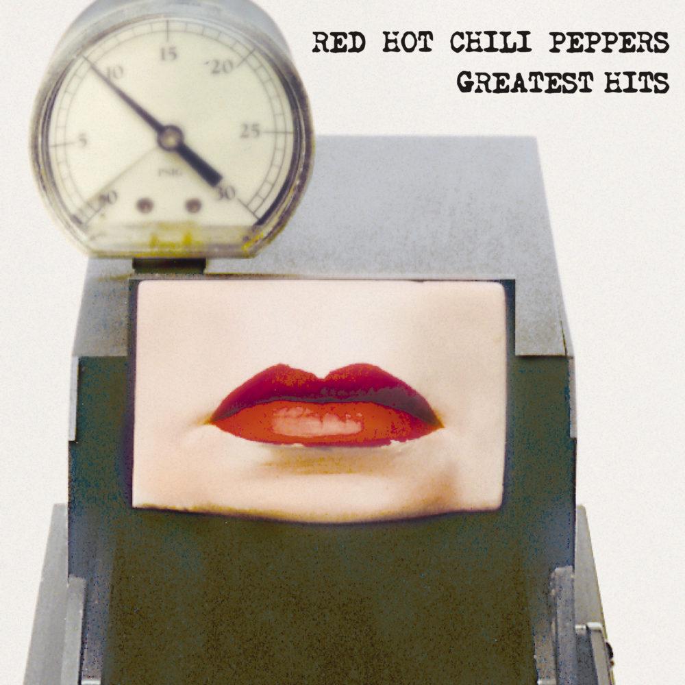 RED HOT CHILI PEPPERS (レッド・ホット・チリ・ペッパーズ) 2003年のベストアルバム『Greatest Hits (グレイテスト・ヒッツ』高画質ジャケット画像