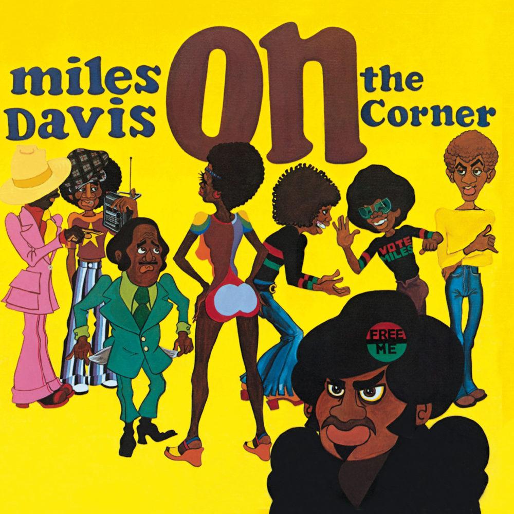 Miles Davis (マイルス・デイヴィス) 1972年のアルバム『On The Corner (オン・ザ・コーナー)』高画質ジャケット画像