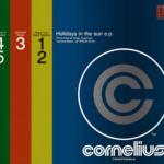 Cornelius (コーネリアス)ミニアルバム『Holidays in the sun e.p.』(初回盤ステッカージャケット)高画質CDジャケット画像