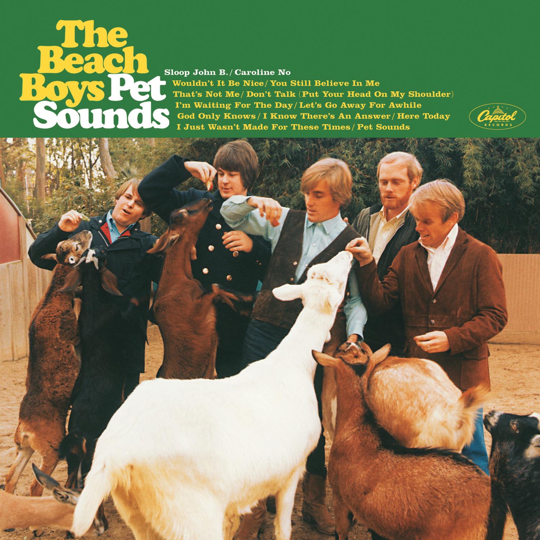 The Beach Boyz (ザ・ビーチ・ボーイズ)『Pet Sounds (ペット・サウンズ)』(1966年) 高画質ジャケット画像