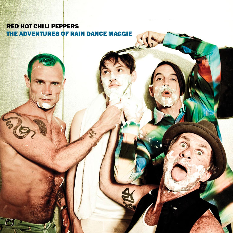 Red Hot Chili Peppers (レッド・ホット・チリペッパーズ) 2011年のシングル『The Adventures Of Rain Dance Maggie (レイン・ダンス・マギーの冒険)』高画質ジャケット画像