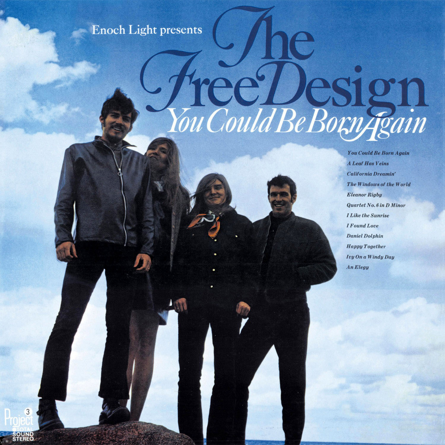 The Free Design (ザ・フリー・デザイン) 2ndアルバム『You Could Be Born Again (ユー・クッド・ビー・ボーン・アゲイン)』高画質ジャケット画像