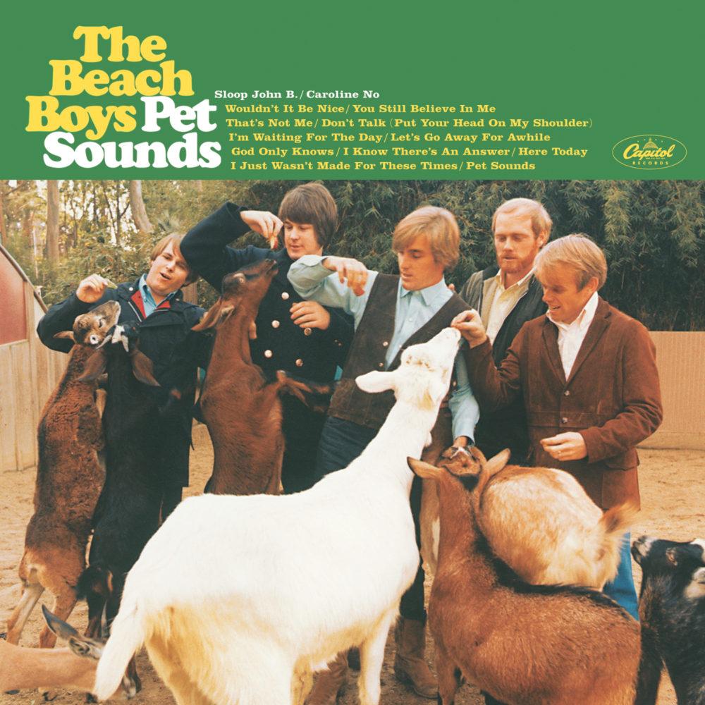 The Beach Boys (ザ・ビーチ・ボーイズ)『Pet Sounds (ペット・サウンズ)』(1966年) 高画質ジャケット画像