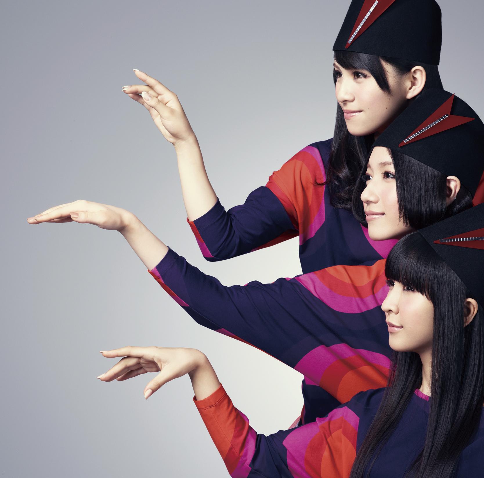 Perfume (パフューム) 12thシングル『ねぇ』通常盤 (2010年) 高画質ジャケット画像