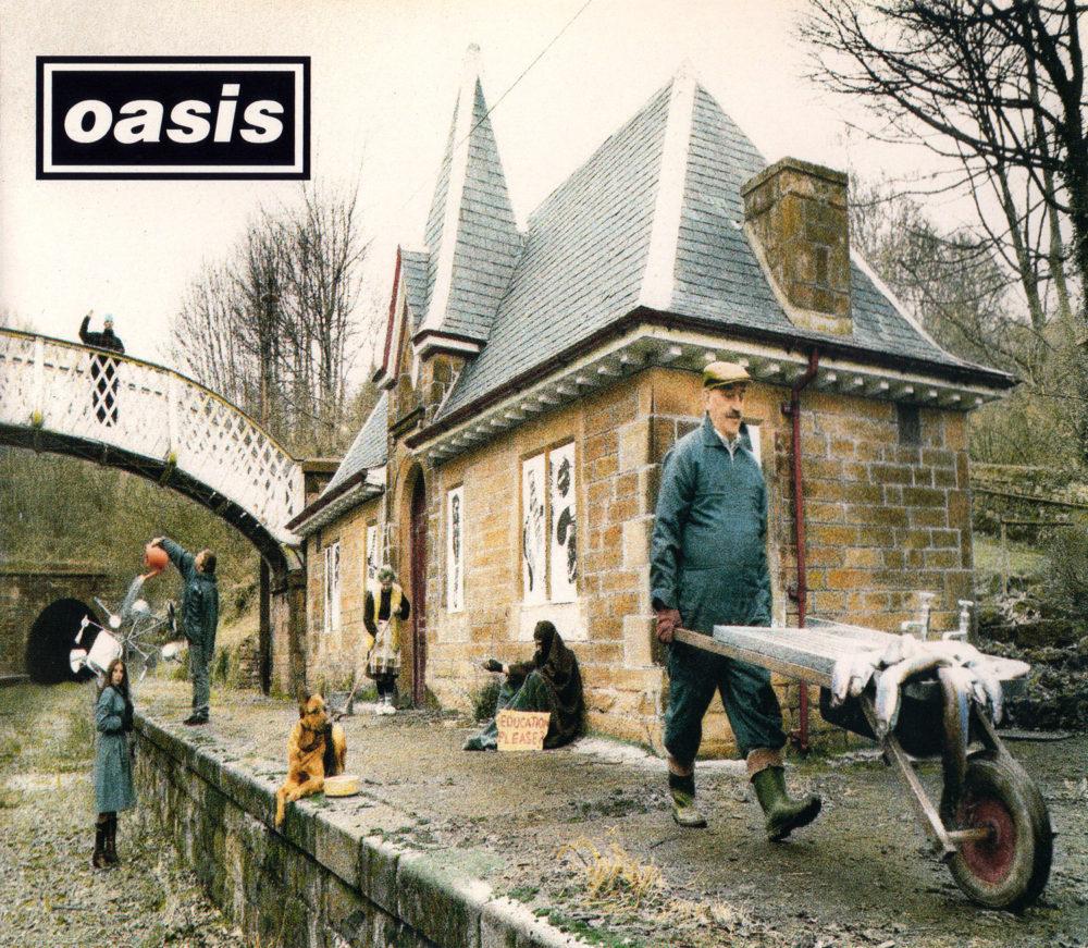oasis (オアシス) 6thシングル『Some Might Say (サム・マイト・セイ)』 (1995年)高画質ジャケット画像 (UK盤 CRESCD 204)