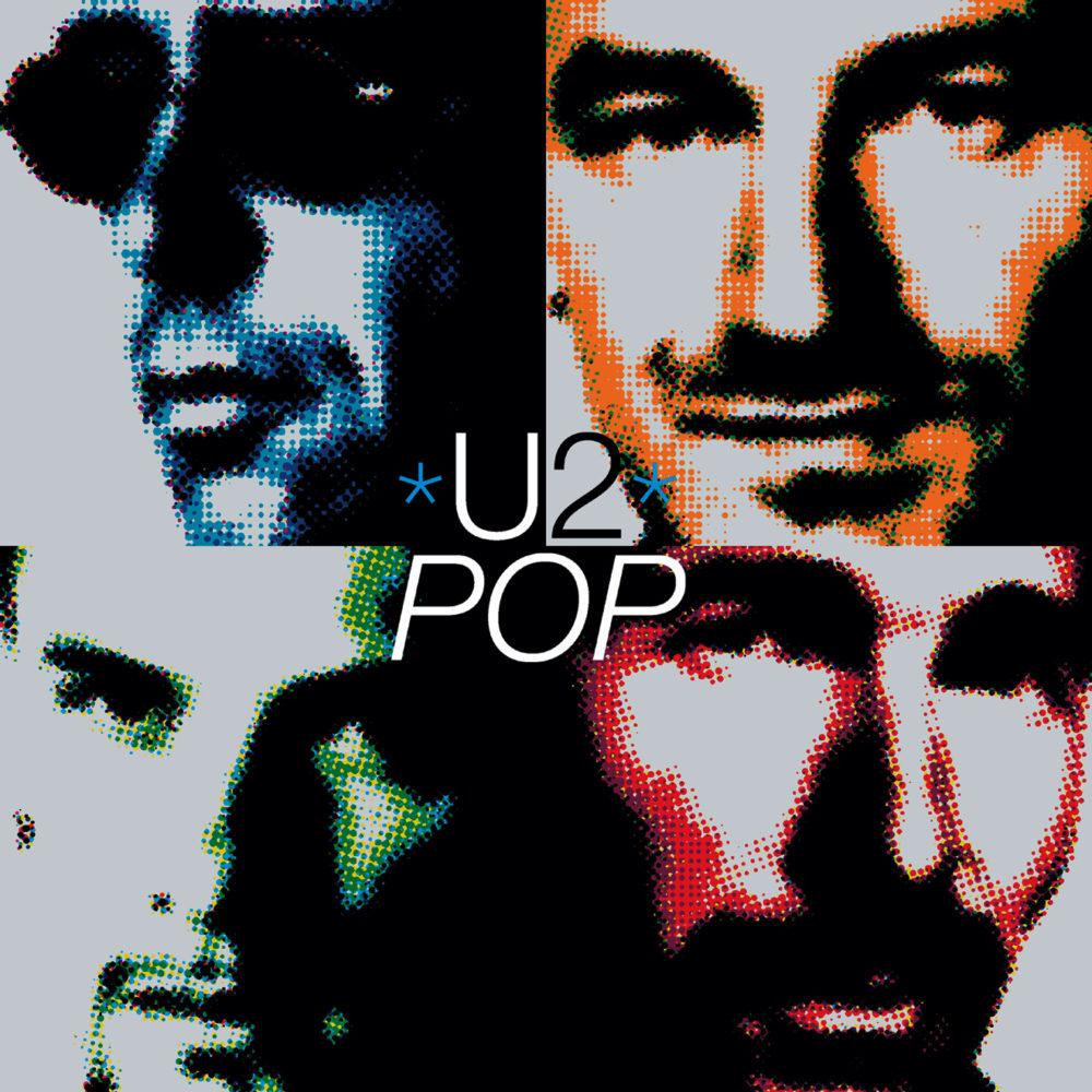 U2 (ユートゥー) 『POP (ポップ)』(1997年) 高画質ジャケット画像