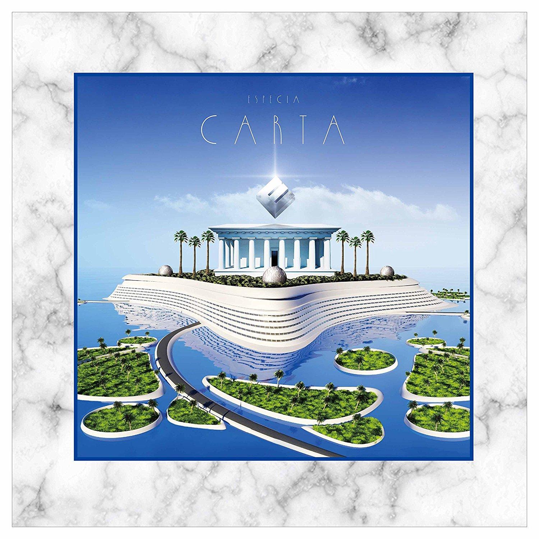Especia (エスペシア) アルバム『CARTA』(通常盤) 高画質ジャケット画像