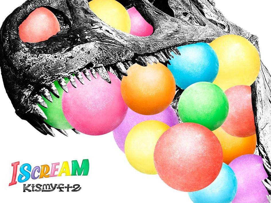 Kis-My-Ft2 (キスマイフットツー) 5thアルバム『I SCREAM』(初回生産限定2cups盤)高画質ジャケット画像