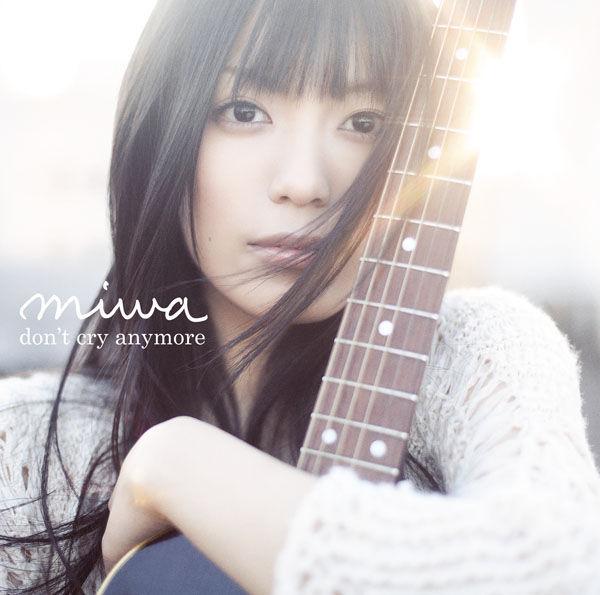 miwa (ミワ) 1stシングル『don't cry anymore』(2010年3月3日発売) 高画質ジャケット画像