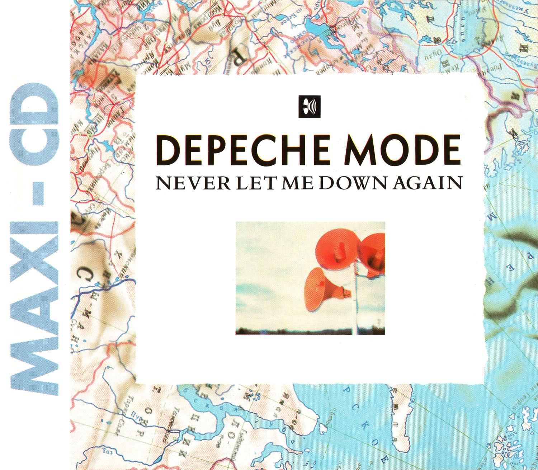 Depeche Mode (デペッシュ・モード) シングル『NEVER LET ME DOWN AGAIN』(1987年) 高画質ジャケット画像