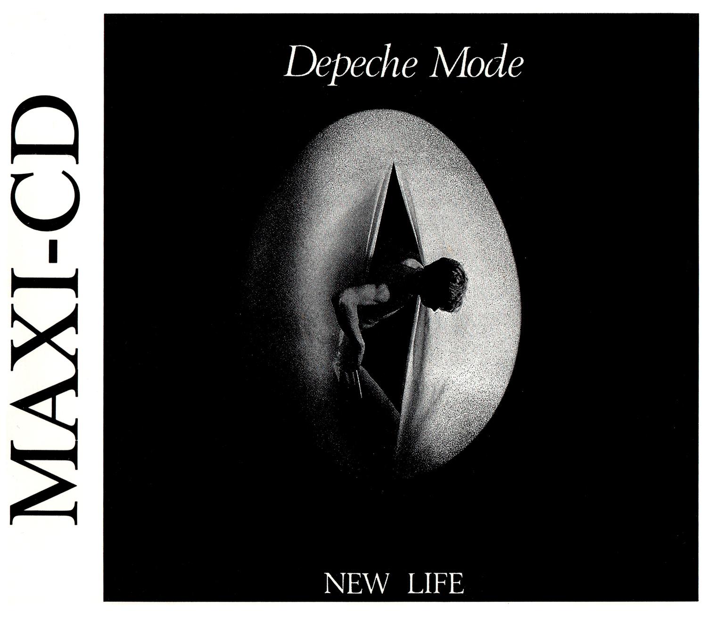 Depeche Mode (デペッシュ・モード) シングル『NEW LIFE (ニュー・ライフ)』(1981年) 高画質ジャケット画像