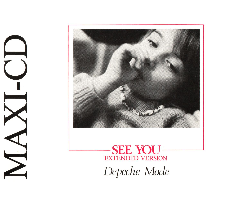Depeche Mode (デペッシュ・モード)『SEE YOU (シー・ユー)』(1982年) 高画質ジャケット画像