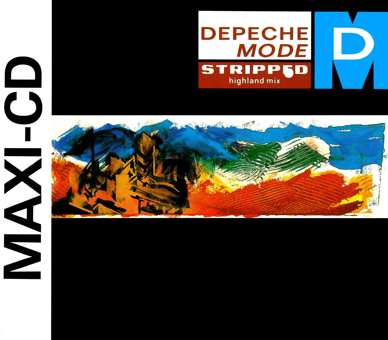 Depeche Mode (デペッシュ・モード) シングル『STRIPPED』(1986年) 高画質ジャケット画像