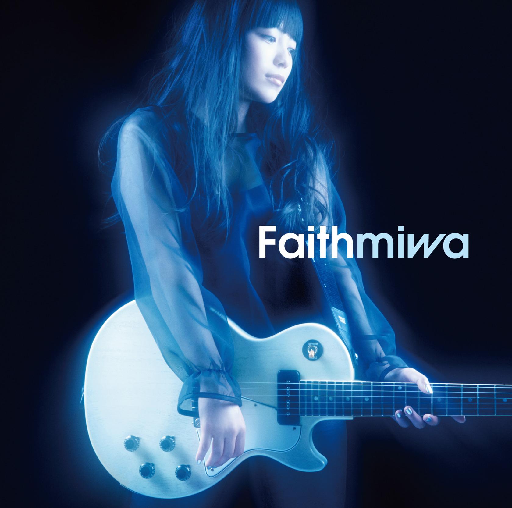 miwa (ミワ)13thシングル『Faith (フェイス)』(2014年2月12日発売) 高画質ジャケット画像