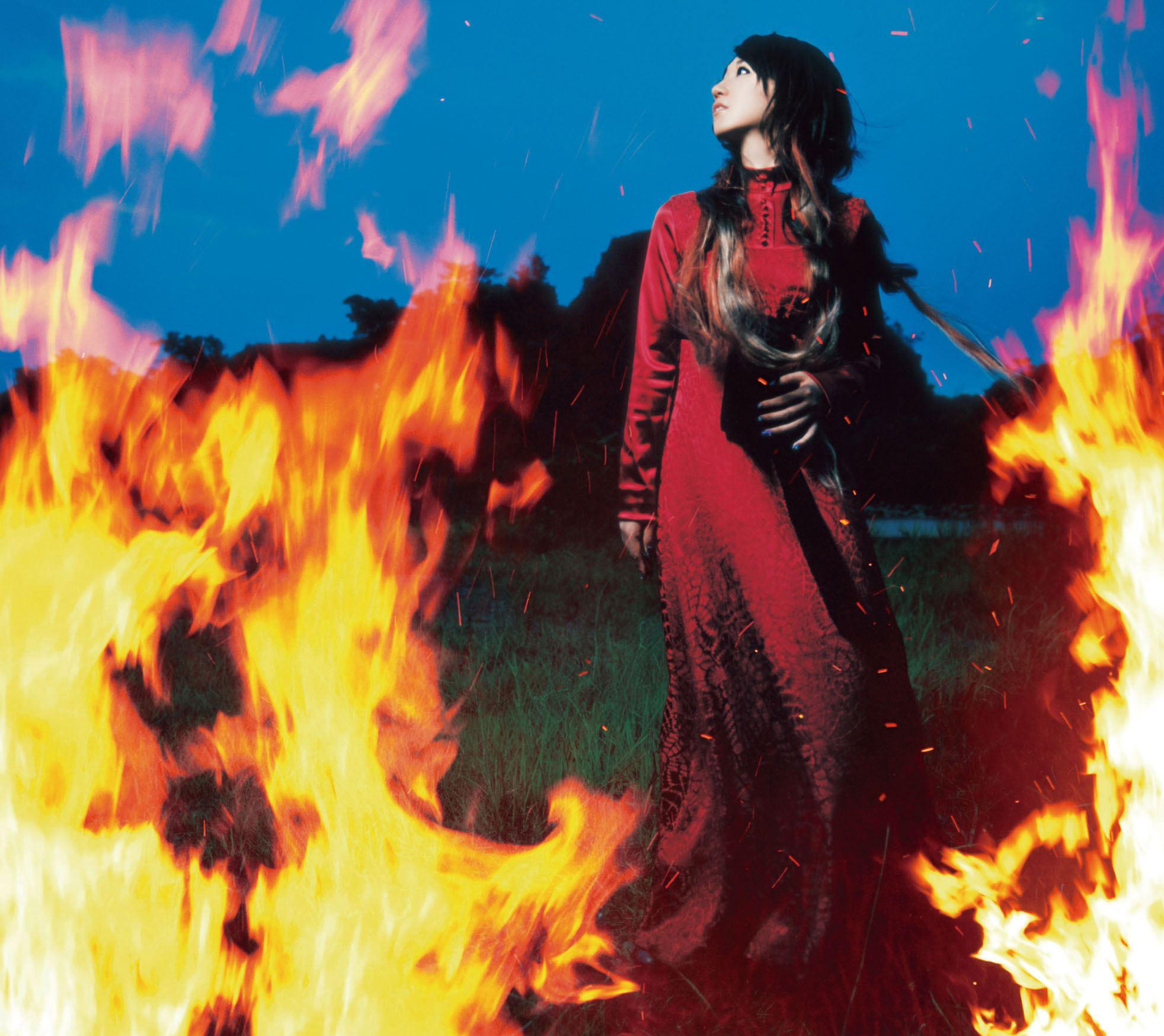 水樹奈々 (みずきなな) 20thシングル『夢幻 (むげん)』(2009年10月28日発売) 高画質ジャケット画像