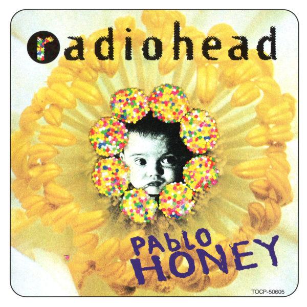 Radiohead (レディオヘッド) 1stアルバム『Pablo Honey (パブロ・ハニー)』(1993年) 高画質ジャケット画像
