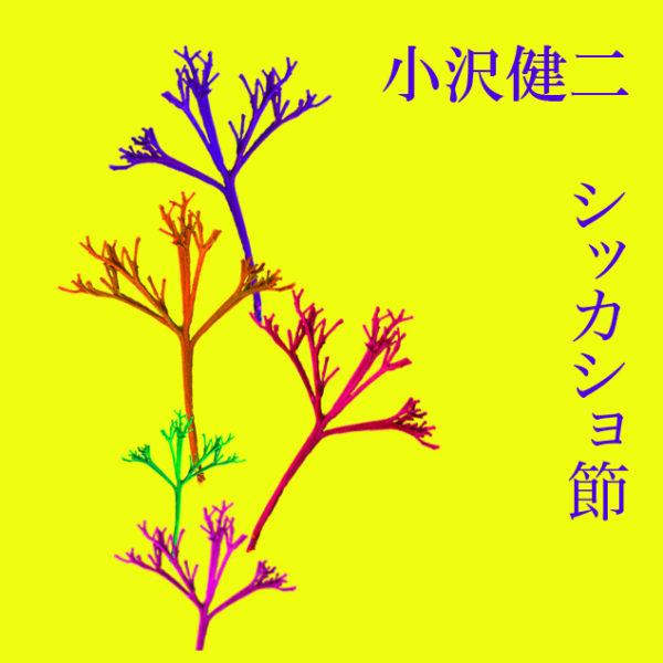 小沢健二 (おざわけんじ) 配信限定シングル『シッカショ節』(2010年7月6日) 自作ジャケット画像①