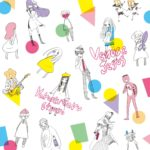 やくしまるえつこ 2ndシングル『ヴィーナスとジーザス』(2010年5月26日発売) 高画質ジャケット画像