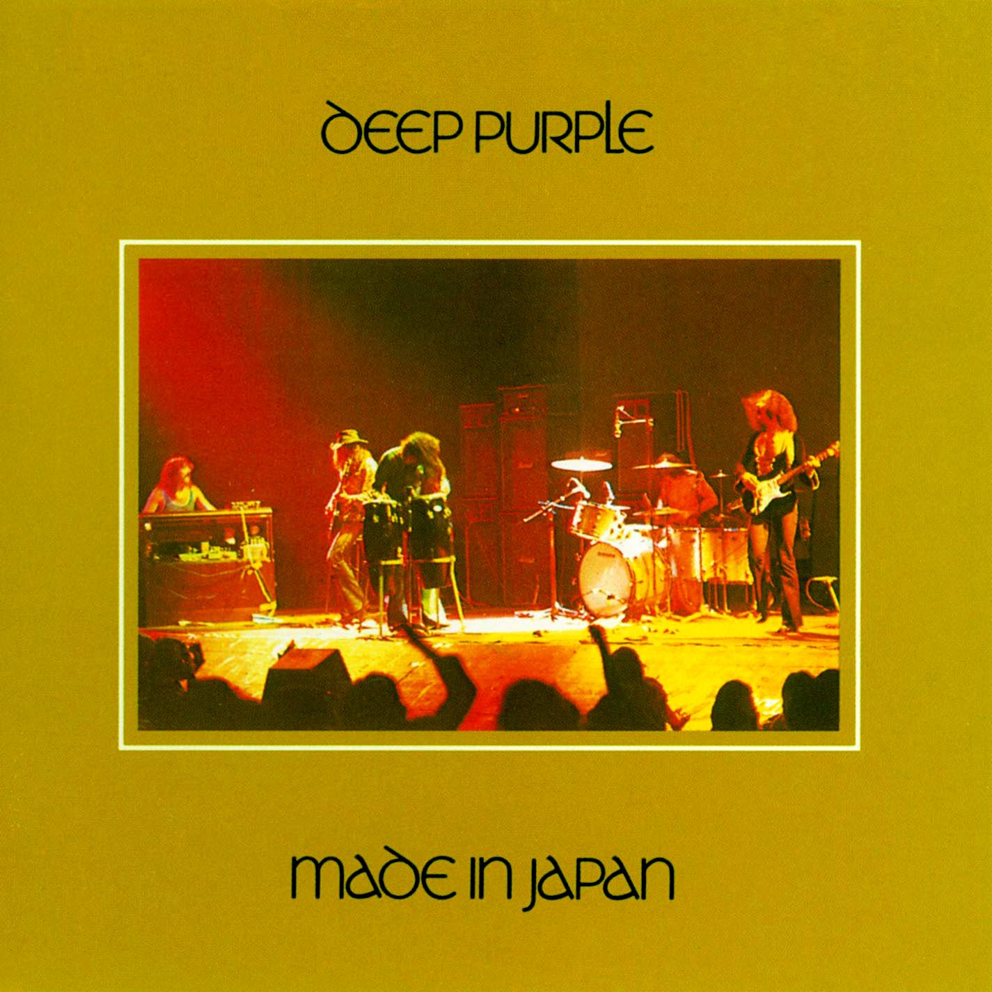 Deep Purple (ディープ・パープル) 『made in japan (ライブ・イン・ジャパン)』(1972年12月) 高画質ジャケット画像
