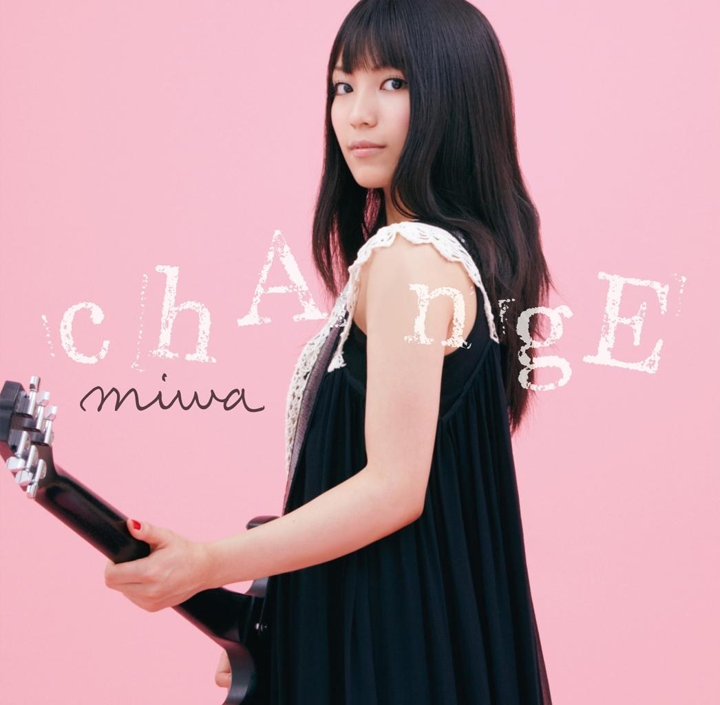 miwa (ミワ) 3rdシングル『chAngE』(初回限定盤) 高画質ジャケット画像