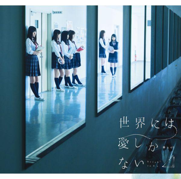 欅坂46(けやきざか フォーティーシックス) 2ndシングル『世界には愛しかない』初回仕様限定盤 TYPE-C(CD+DVD) 高画質ジャケット画像