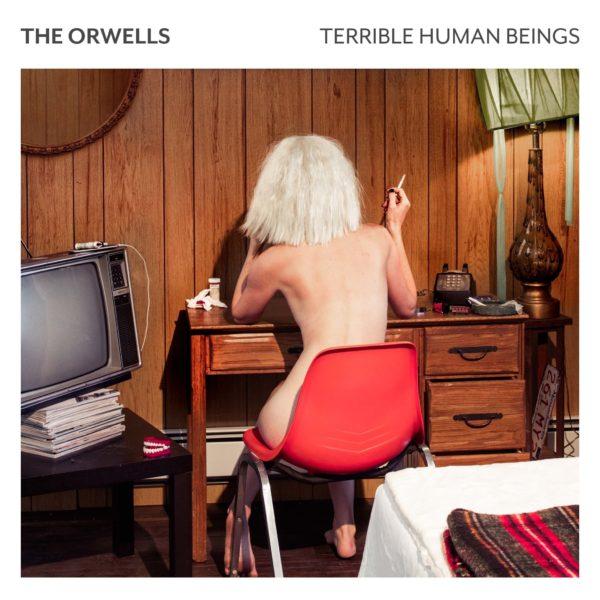The Orwells (ジ・オーウェルズ) 2ndアルバム『TERRIBLE HUMAN BEINGS (テリブル・ヒューマン・ビーイングス)』(2017年02月17日発売) 高画質ジャケット画像