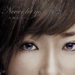 加藤ミリヤ 1stシングル『Never let go/夜空』(2004年9月8日発売) 高画質ジャケット画像
