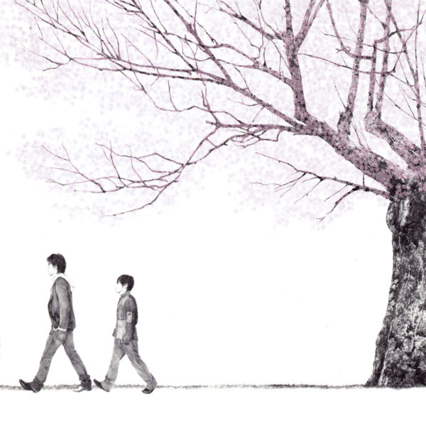 コブクロ メジャー12thシングル『桜』(2005年11月2日発売) 高画質ジャケット画像