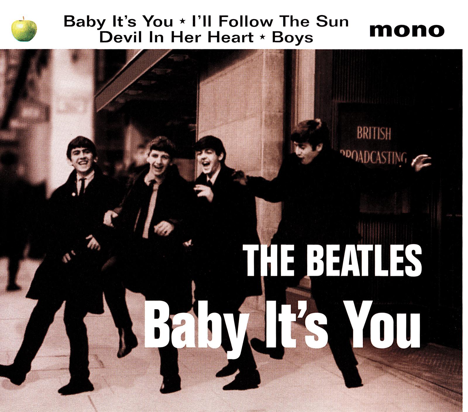The Beatles (ザ・ビートルズ) マキシシングル『Baby It's You』(UK盤) 高画質ジャケット画像