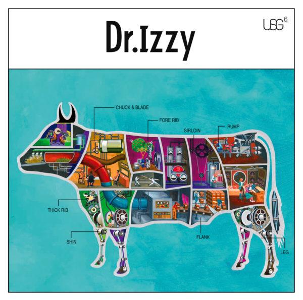 UNISON SQUARE GARDEN 6thアルバム『Dr.Izzy』(通常盤) 高画質ジャケット画像