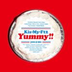 Kis-My-Ft2 (キスマイフットツー) 7thアルバム『Yummy!! (ヤミー)』(初回盤A) 高画質CDジャケット画像