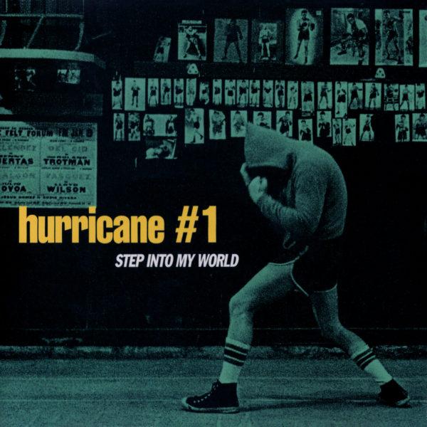 hurricane #1 (ハリケーン #1) シングル『STEP INTO MY WORLD (ステップ・イントゥ・マイ・ワールド)』(日本盤) 高画質CDジャケット画像