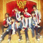 Kis-My-Ft2 (キスマイフットツー) 21stシングル『LOVE』(初回盤A) 高画質CDジャケット画像