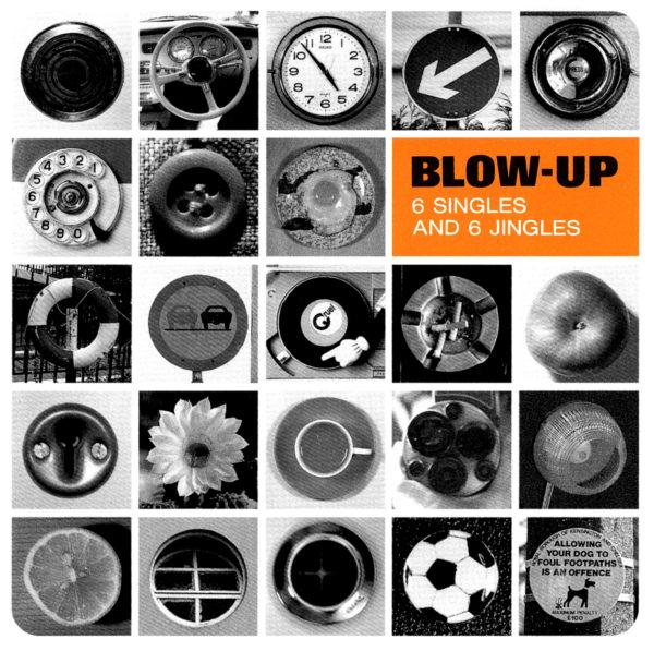 Crue-L Records (クルーエル・レコーズ) オムニバス・アルバム『Blow-Up 6 Singles And 6 Jingles』(再発盤) 高画質CDジャケット画像