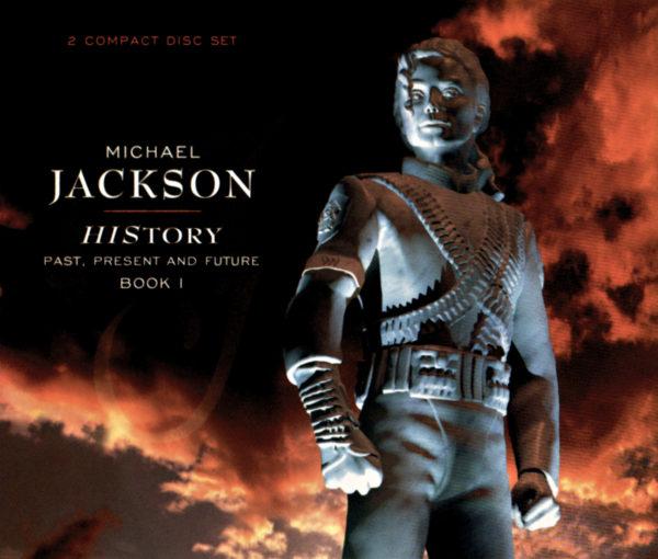 Michael Jackson (マイケル・ジャクソン) 『HIStory: Past, Present and Future, Book I (ヒストリー パスト、プレズント・アンド・フューチャー ブック1)』(1995年6月16日発売) 高画質CDジャケット画像