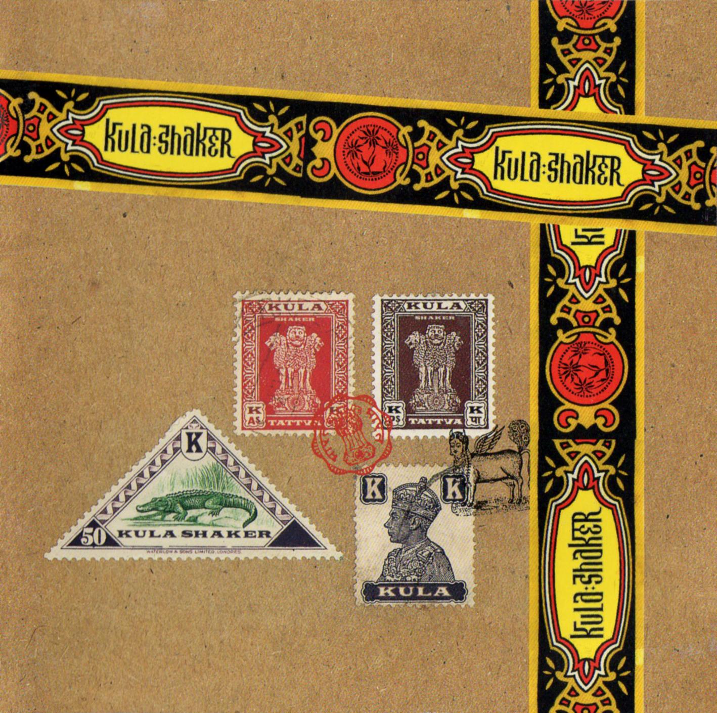 Kula Shaker (クーラ・シェイカー) 1stアルバム『K』(初回コレクターズ・ジャケット) 高画質CDジャケット画像