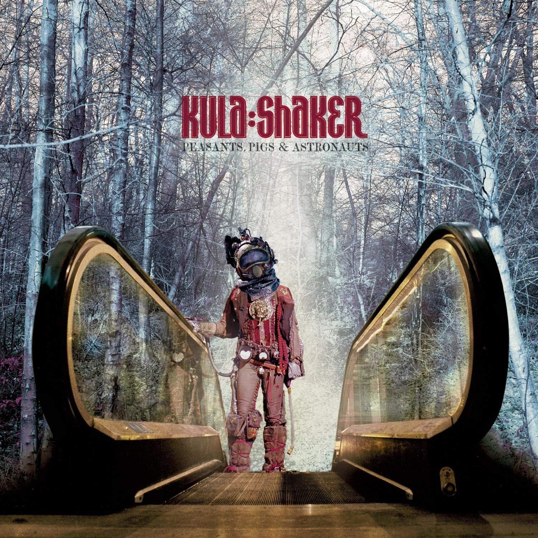 Kula Shaker (クーラ・シェイカー) 2ndアルバム『Peasants, Pigs and Astronauts (ペザンツ、ピッグス&アストロノーツ)』(1999年2月27日発売) 高画質CDジャケット画像