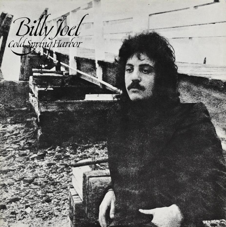 Billy Joel (ビリー・ジョエル) 1stアルバム『コールド・スプリング・ハーバー〜ピアノの詩人 (Cold Spring Harbor)』(1971年) 高画質レコード・ジャケット画像