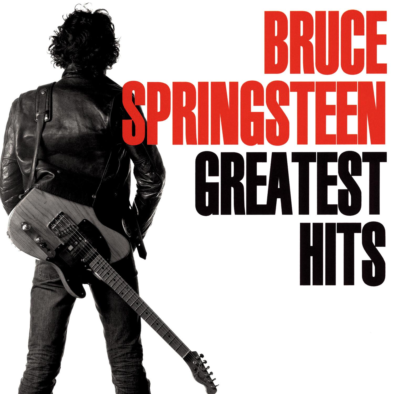 Bruce Springsteen (ブルース・スプリングスティーン) ベスト・アルバム『GREATEST HITS (グレイテスト・ヒッツ)』(1995年3月9日発売) 高画質CDジャケット画像