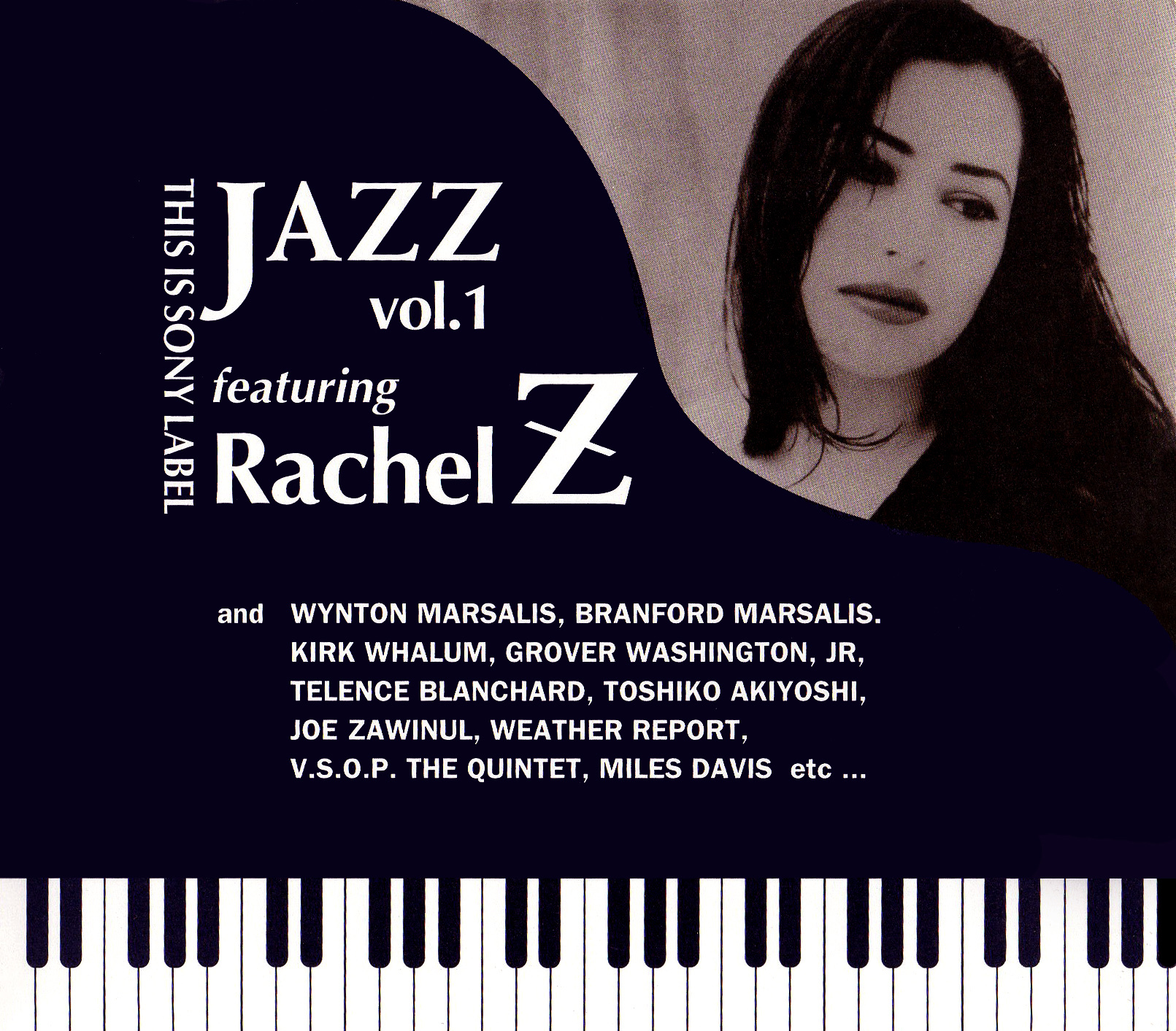This Is Sony Label Jazz Vol.1 Featuring Rachel Z (非売品CD) 高画質ジャケット画像
